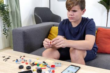 Lego dla dzieci niewidomych i niedowidzących